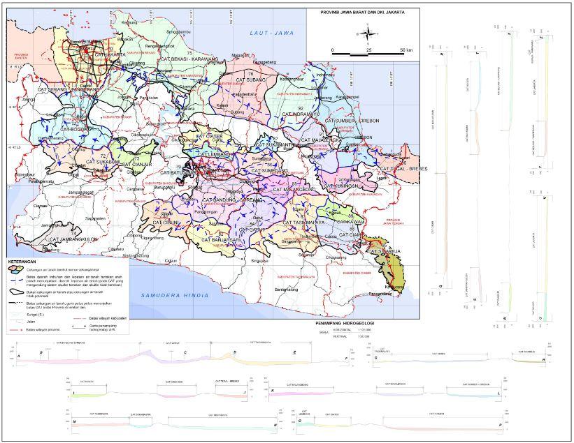 Download Peta CAT Cekungan Air Tanah Gratis